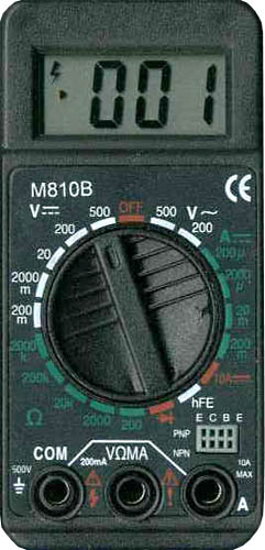 Цифровой мультиметр M810B