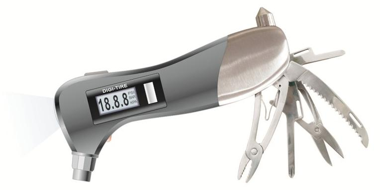 DT-408. Многофункциональный прибор безопасности для автомобилиста