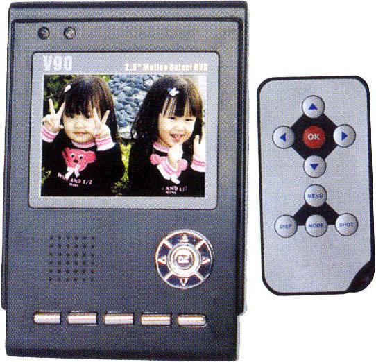 V-90. Персональный цифровой видеорекордер (DVR) со встроенным TFT-дисплеем