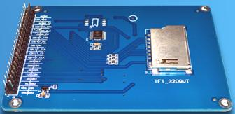 "TFT01-3.2. 3,2"" TFT ������� (320×240) � ��������� ������� (touch screen) ��� Arduino"