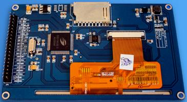 "TFT01-4.3. 4,3"" TFT ������� (480×272) � ��������� ������� (touch screen) ��� Arduino"