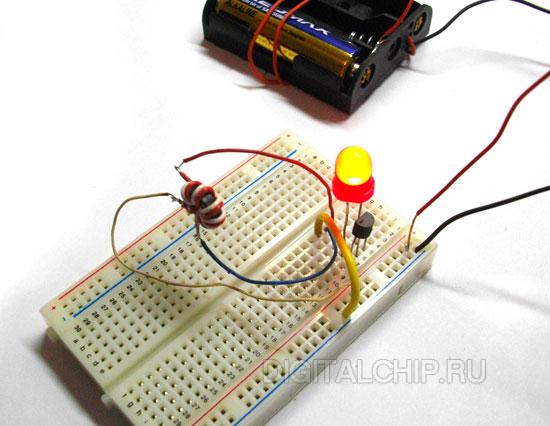 5 вольт от одной батарейки своими руками