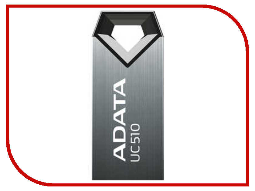 USB накопитель 16GB A-DATA UC510 TITANIUM