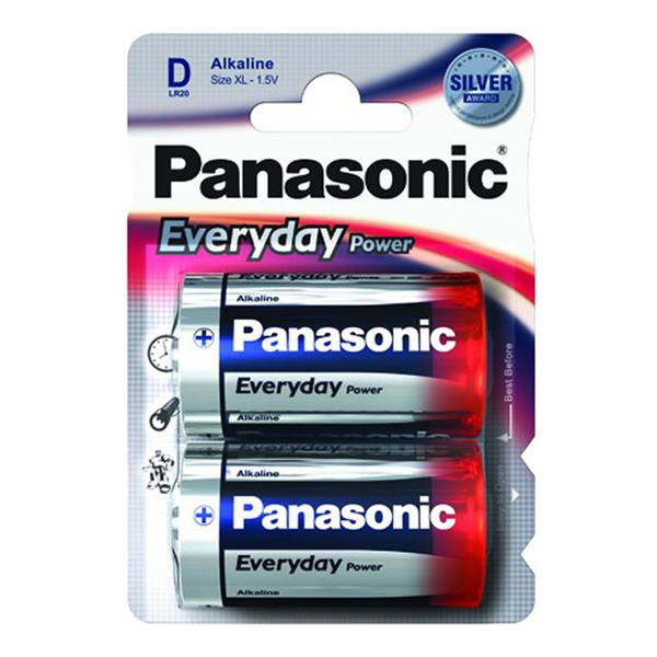 PANASONIC Everyday Power LR20 BL-2 (24/120)
