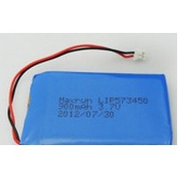 LP 573450 980mAh 3,7V with PCB, connector 2.54*2pins AKIGA