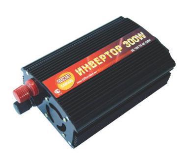 Преобразователь напряжения СОЮЗ CAR300 ( 12V-->220V, 300W )