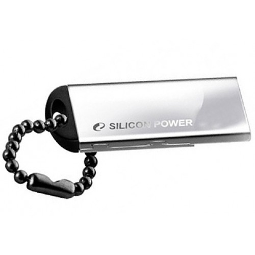 USB флэш-диск 8GB SILICON POWER Touch 830 Silver
