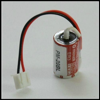 Maxell ER3 (with white plug) 3,6V 1100mAh Lithium 1/2AA (100)