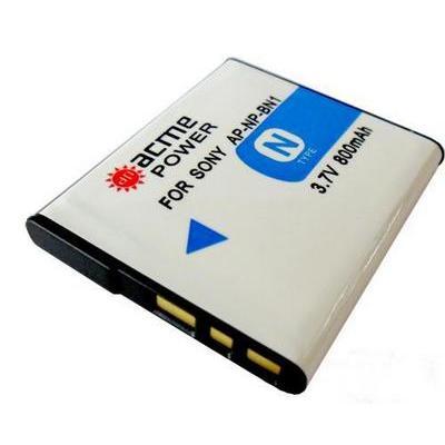 Аккумулятор AcmePower BN-1 (3.7V, min. 600mAh, Li-ion) для SONY CyberShot DSC-T99/T110/T110D/TX10/TX100V/TX20/TX5/TX55/...
