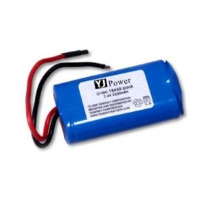 ET ICR18650S-PCM (3500/2600mAh) аккумулятор Li-ION 3, 7V с защитой плоский