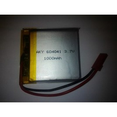 LP 604040 920mAh 3,7V with PCM and connector JST AKYGA