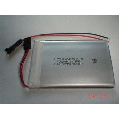 LP 656193 4000mAh 3,7V with PCM and connector JST YOKU