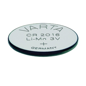 VARTA CR2016 Lithium Button Cells (Li-MnO2) 3V / 90mAh (лоток)