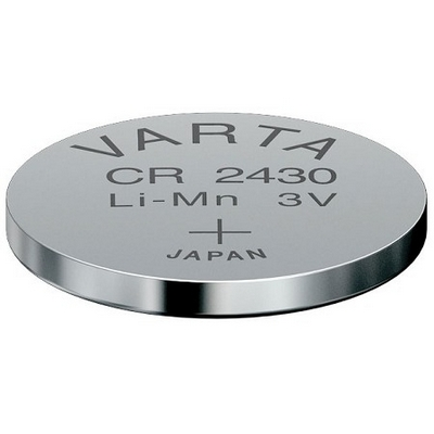 VARTA CR2430 Lithium Button Cells (Li-MnO2) 3V / 280mAh (лоток)