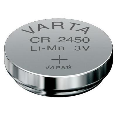 VARTA CR2450 Lithium Button Cells (Li-MnO2) 3V / 560mAh