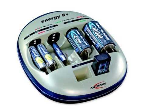 ANSMANN ENERGY 8 plus ( 1-6 AAA/AA, 1-4 C/D, 1-2 Кроны )