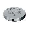 VARTA CR2025 Lithium Button Cells (Li-MnO2) 3V / 170mAh (лоток)