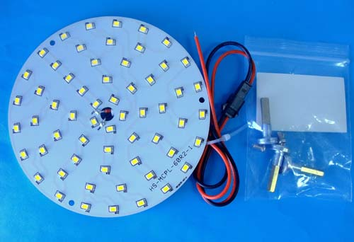 LED ������ Magnetic ceiling round panel light 14W [WW]