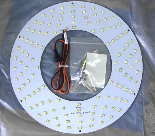 LED модуль Magnetic ceiling round panel light 25W [WW]