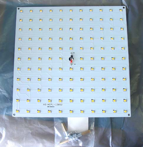 LED модуль Magnetic ceiling square panel light 25W [WW]