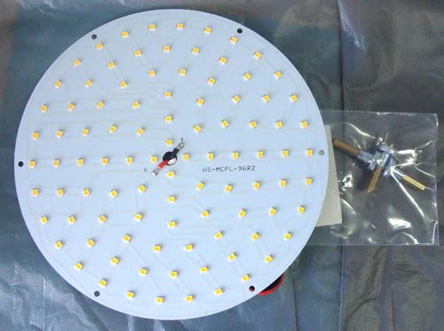 LED ������ Magnetic ceiling round panel light 20W [WW]