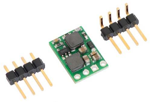 Pololu Батареи, преобразователи, контроллеры заряда Pololu 9V Step-Up/Step-Down Voltage Regulator S10V3F9