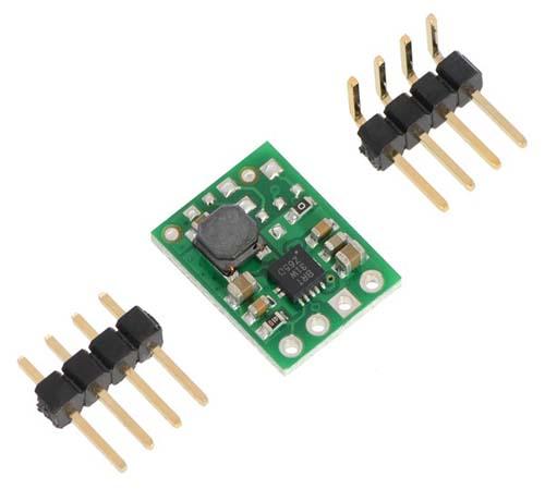 Pololu Батареи, преобразователи, контроллеры заряда Pololu 3.3V Step-Up Voltage Regulator U1V11F3