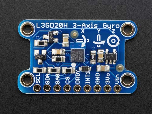 Датчики L3GD20H Triple-Axis Gyro Breakout Board - L3GD20/L3G4200