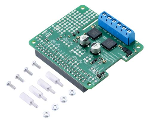 ���������� ������������� ��������������� Dual MC33926 Motor Driver for Raspberry Pi [Assembled]