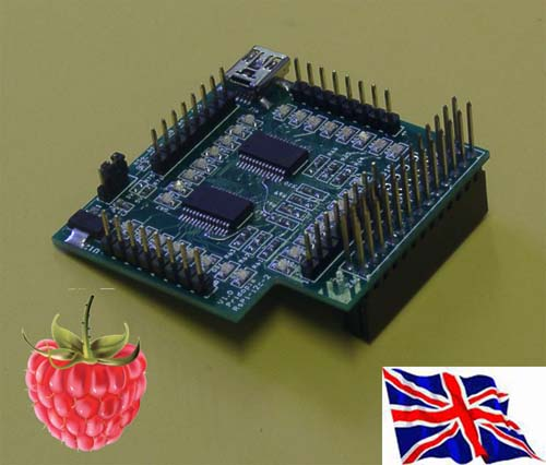 ��������������  � ���������� � ��� SPI 23s17x2-LP with 32 GPIO board for Raspberry Pi