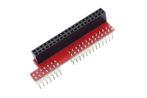Seeed Technology ���������� ��� ���������������� Raspberry Pi B+ 40pin to 26pin GPIO Board