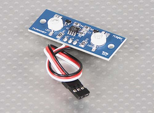 Наборы датчиков 2LED PCB Strobe Blue and Continuous White 3.3-5.5V