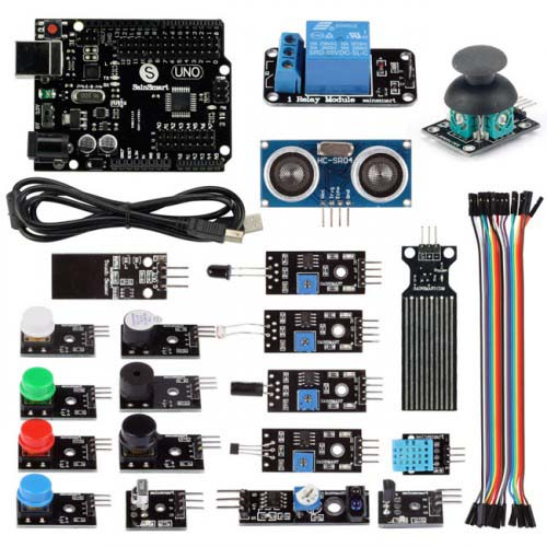 ����������� Sensor Modules Kit 21 in 1 with Arduino UNO R3