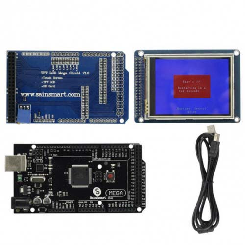 ����������� Mega2560 R3+Adaptor Shield+3.2 TFT LCD Touch Panel for Arduino