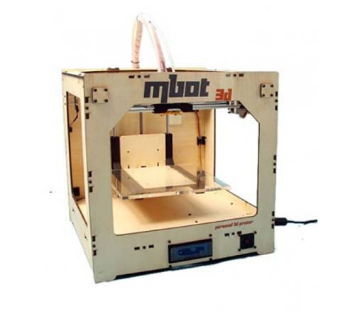 ������� 3D �������� MBot Cube Plywood SH [Single Head]