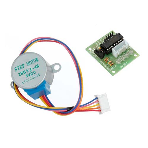 Шаговые двигатели ULN2003 stepper motor driver board + 5V stepper motor