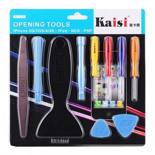 Специальный инструмент Набор для вскрытия KAISI1202 iPhone/iPad/Macbo ok/PSP/NDS  10 в 1