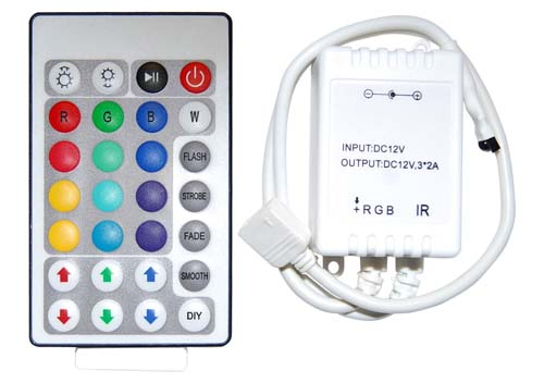 ���������� ���������� LED 28-key Infrared Controller