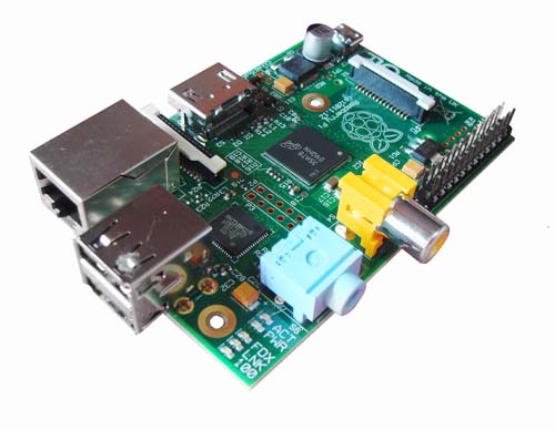 Микрокомпьютеры Raspberry Pi Raspberry Pi Model B 512Mb [RS]