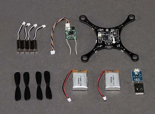 Квадрокоптеры HobbyKing Pocket Quad V1.1 Ultra-Mi