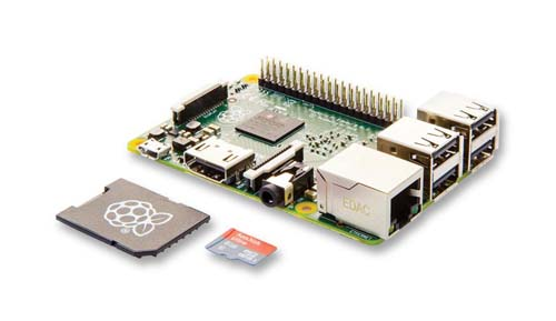 ��������������  � ���������� � ��� Raspberry Pi 2 Model B 1GB + 8GB-NOOBS