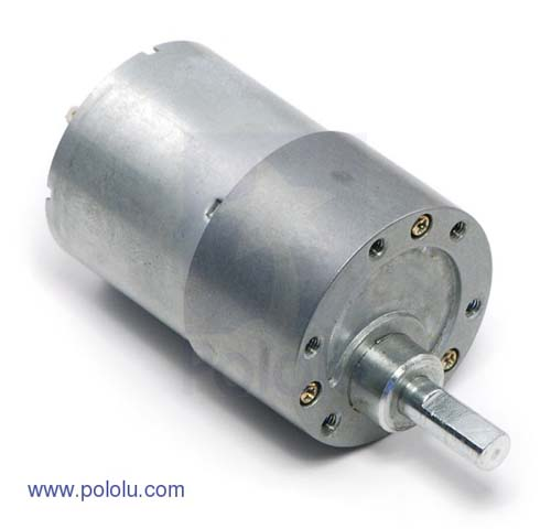 Коллекторные моторы 50:1 Metal Gearmotor 37Dx54L mm