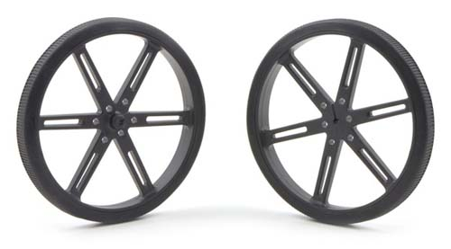 Колёса Wheel 90x10mm Pair - Black