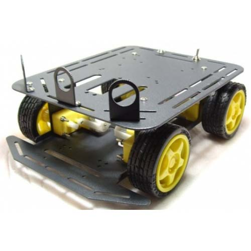 ��������� � ����� A4WD Mobile Robot with encoder