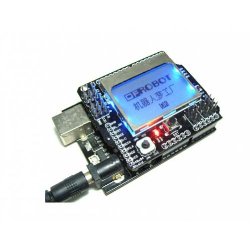 ������� Graphic LCD4884 Shield For Arduino
