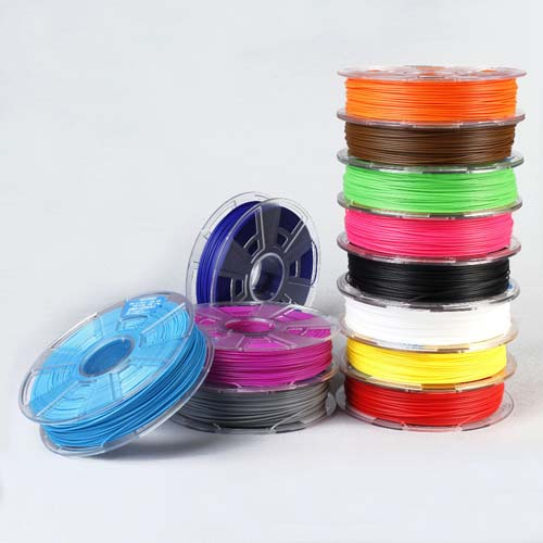 АБС Пластик ABS plastic for 3D printer 1.75mm. 500g. [Fluorescence green]