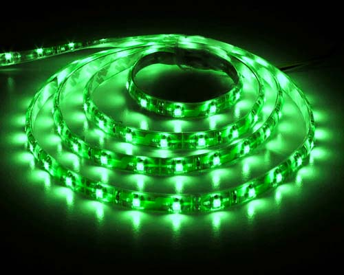 ������������ ����� FS-LED 3528SMD-300LED-12V-4.8W-IP67-5m.Green