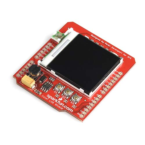 Дисплеи Color LCD Shield for Arduino