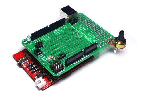 Макетные платы Arduino ProtoShield kit remixed v1.