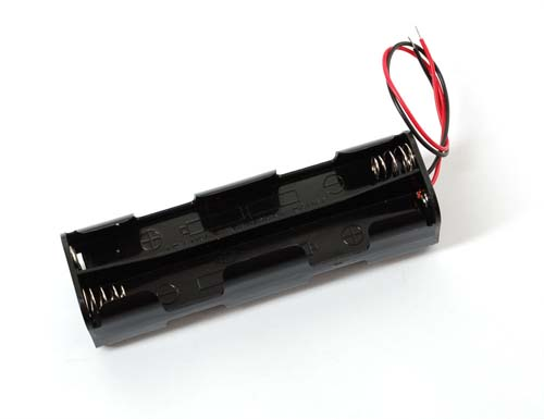 ������, ���������, ������ 8 x AA battery holder